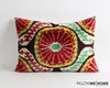 Handwoven & hand dyed ikat velvet pillow cover - pillowme