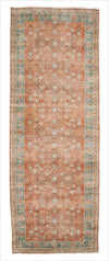 Vintage Kayseri Runner Rug - 3.7 x 10.2 feet - pillowmehome