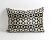 Emilia handwoven & hand dyed ikat velvet pillow cover - pillowme