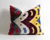Celia velvet ikat pillow cover - pillowme