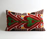 Keely ethnic velvet ikat pillow cover - pillowmehome