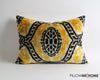 Teresa handwoven & hand dyed ikat velvet pillow cover - pillowmehome