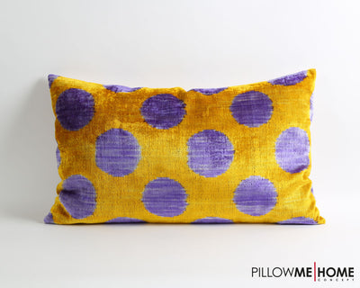 Kyla velvet ikat pillow cover - pillowmehome