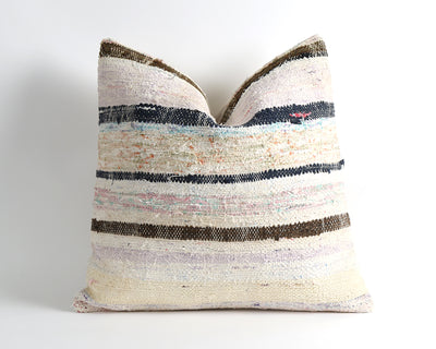 Lucia striped kilim cushion cover