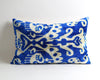 Ikat velvet pillow cover - pillowme