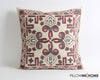 Adeline handmade suzani pillow cover - pillowme