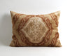 Moriah brown velvet ikat cushion cover - pillowmehome