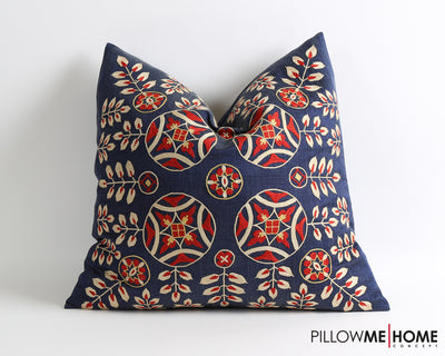 Aleah cross stitch suzani pillow cover - pillowme
