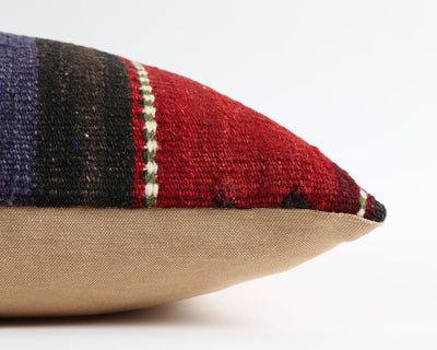Jeannette bohemian kilim pillow cover