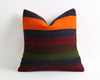 Mamie striped kilim pillow cover