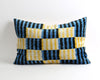 Lori handwoven velvet ikat pillow cover