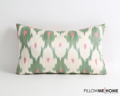 Kaiya silk suzani pillow cover - pillowmehome