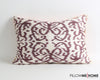 Yazmin decorative suzani cushion cover - pillowmehome