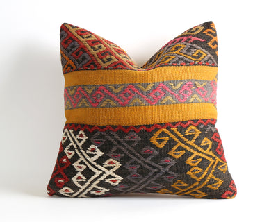 Nadia vintage throw kilim pillow cover - pillowmehome