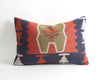 Patsy lumbar kilim pillow cover