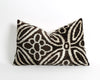 Elena handwoven ikat velvet pillow cover - pillowme