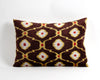 Faye ikat velvet pillow cover - pillowme