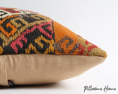 Savannah tribal throw kilim pillow cover - pillowmehome