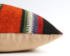 Olga striped kilim pillow cover
