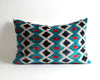 Corinne ikat velvet sofa pillow cover - pillowme
