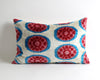 Alaina eclectic decor ikat velvet pillow cover - pillowme
