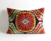 Adelaide ikat velvet decorative pillow cover - pillowme