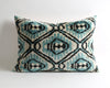 Kenzie modern velvet ikat pillow cover - pillowmehome