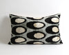 Lexi black velvet ikat pillow cover - pillowmehome