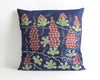 Adelyn navy blue suzani pillow cover - pillowme