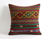 Paulina striped boho kilim pillow cover