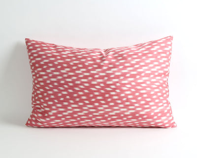 Beverly pink ikat pillow cover - pillowme