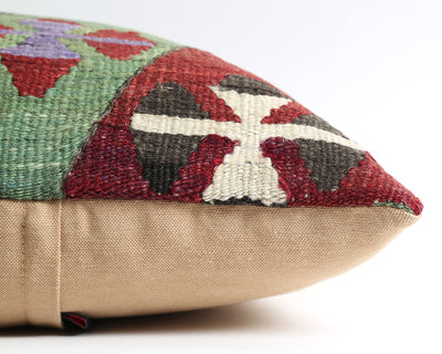 Tricia tribal kilim pillow cover