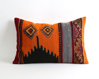 Sonya vintage kilim pillow cover