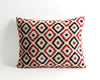 Henrietta ikat velvet pillow cover - pillowme