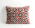 Henrietta ikat velvet pillow cover