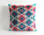 Cassandra ikat velvet pillow cover