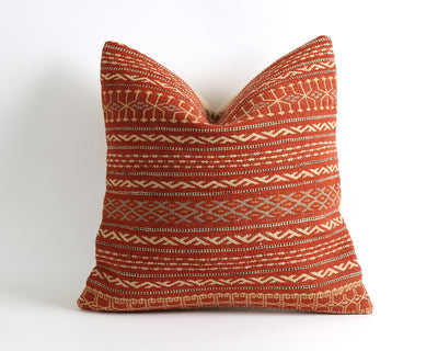 Nina striped kilim pillow cover