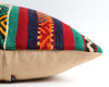 Thelma striped boho kilim pillow cover