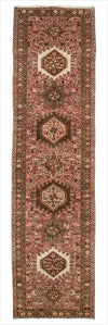 Vintage Persian Runner Rug - 2.3 x 8.11 feet - pillowmehome