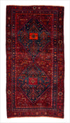 Vintage Persian Rug - 3.8 x 7.4 feet - pillowmehome