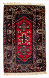 Vintage Dosemealtı Turkish Rug - 4.3 x 7.3 feet - pillowmehome
