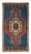 Vintage Small Turkish Rug - 1.8 x 3.2 feet - pillowmehome