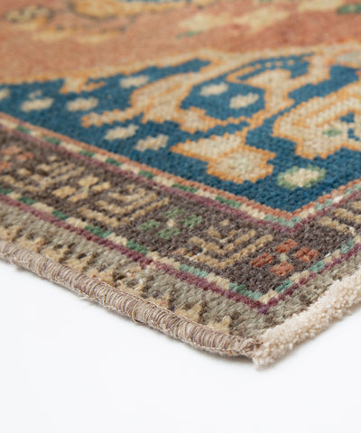 Vintage Small Turkish Rug - 1.8 x 3.8 feet - pillowmehome