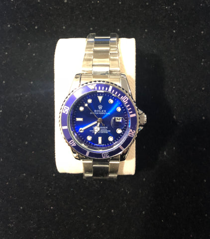 New Silver Blue Rolex Sub AAA