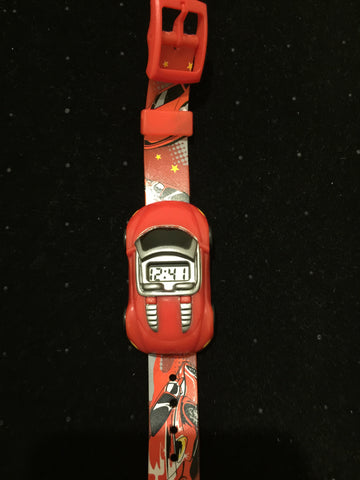 New Kids Car Watch Red