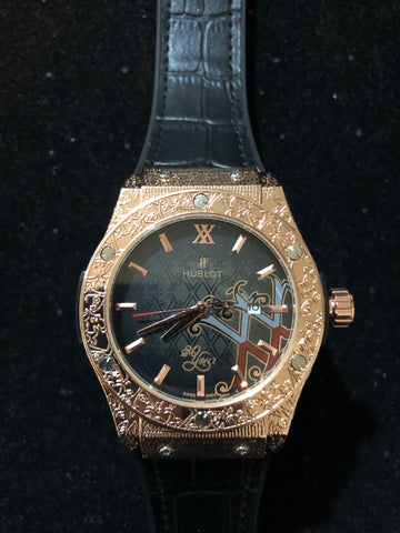 New Gold Black Hublot Geneve AAA