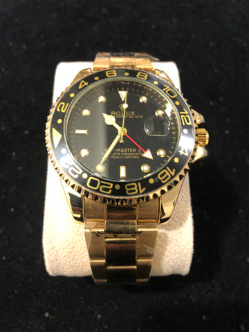 New Gold Black Rolex GMT Master II AAA