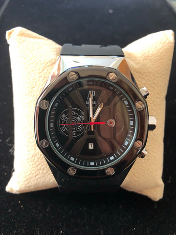 New Black Silver AP Swiss Watch AAA