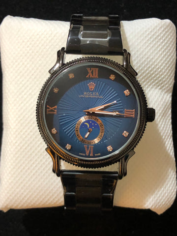 New Rolex Black Blue Midnight AAA