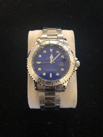 New Blue Silver Rolex AAA